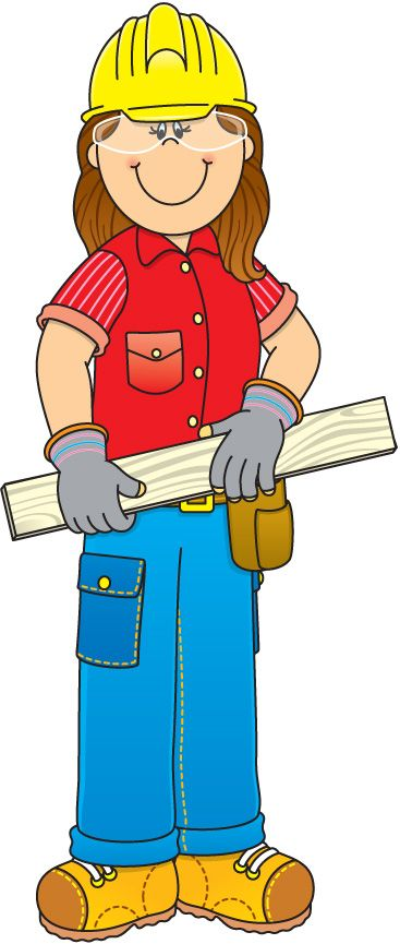 Cute construction site clipart clip library stock community helpers clipart | Construction Worker Clipart | Clipart ... clip library stock