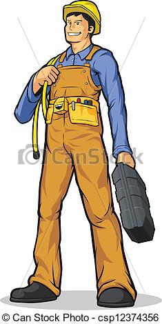 Cute construction site clipart png royalty free stock Clipart Vector of Industrial Construction Worker with - A vector ... png royalty free stock