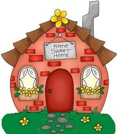 Cute country home sweet home clipart clip free stock Cute country home sweet home clipart - ClipartFox clip free stock