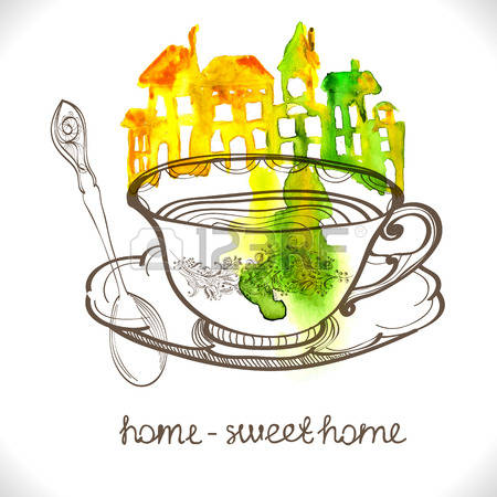Cute country home sweet home clipart png free download 188 Home Sweet Country Home Stock Vector Illustration And Royalty ... png free download