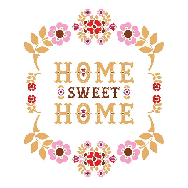 Cute country home sweet home clipart jpg black and white download Top 25 ideas about Home Sweet Home on Pinterest | Folk art, Sweet ... jpg black and white download