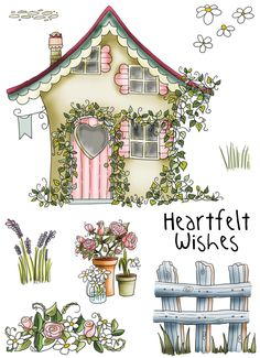 Cute country home sweet home clipart clip transparent library visual blessings: Home Sweet Home in my Moleskine Journal | Art ... clip transparent library