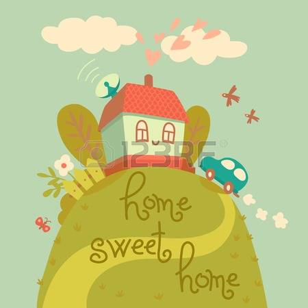Cute country home sweet home clipart clip art free download 188 Home Sweet Country Home Stock Vector Illustration And Royalty ... clip art free download