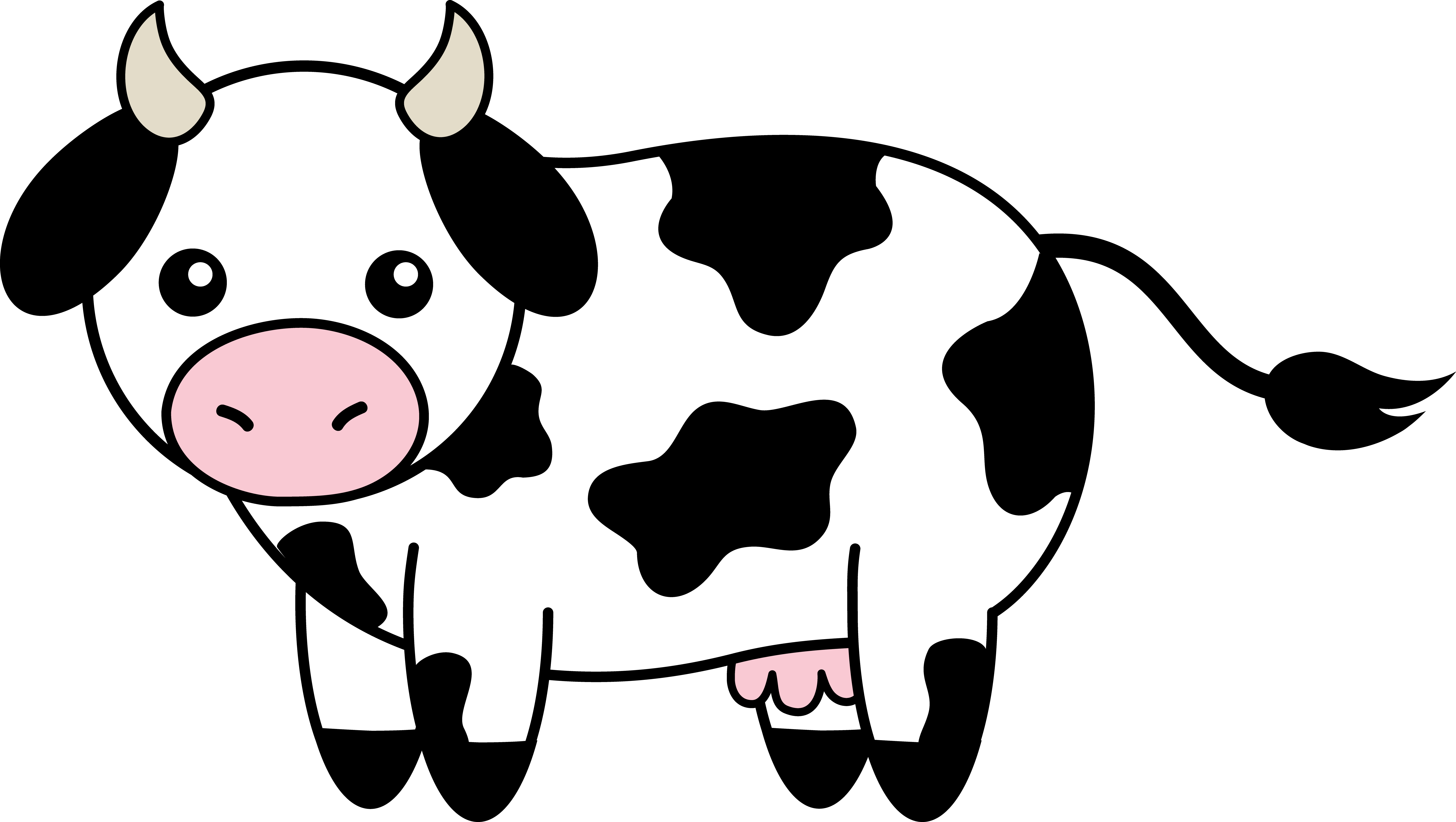 Free black cow clipart black and white jpg royalty free download Free Cow Images Free, Download Free Clip Art, Free Clip Art on ... jpg royalty free download
