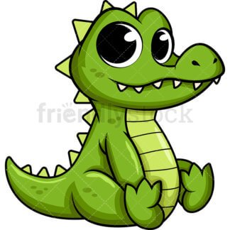 Cute crocodile clipart clip transparent library Cute crocodile clipart 1 » Clipart Portal clip transparent library