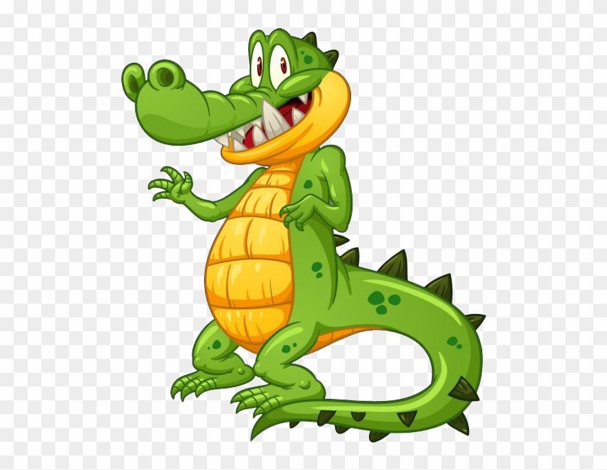Cute crocodile clipart banner royalty free download Cute Crocodile Cartoon - Cartoon Crocodile Clipart (#1385753 ... banner royalty free download