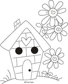Cute cuntry home sweet home clipart image free stock What to Do When You Get Home | Sweet home, Cute house and Patterns image free stock