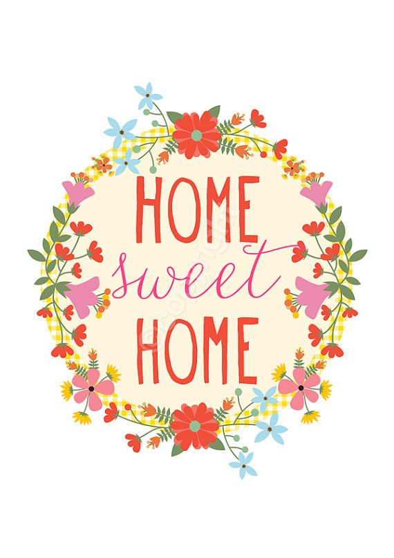Cute cuntry home sweet home clipart clip art library Top 25 ideas about Home Sweet Home on Pinterest | Folk art, Sweet ... clip art library
