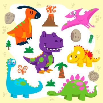 Cute Dinosaur PNG Images | Vector and PSD Files | Free Download on ... clip