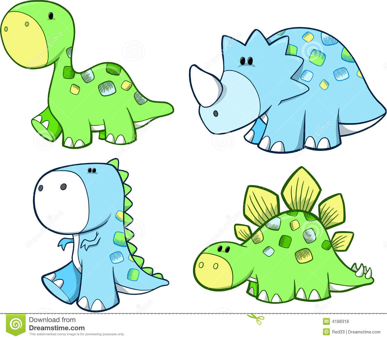 68+ Cute Dinosaur Clipart | ClipartLook royalty free download