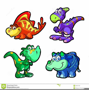 Free Cute Dinosaur Clipart | Free Images at Clker.com - vector clip ... clip art free library