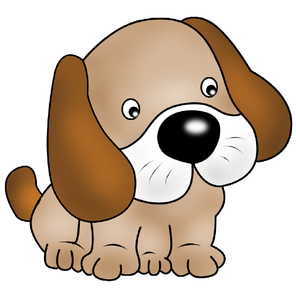 Skinny dog clipart clip transparent stock Puppy pictures of cute cartoon puppies clipart image 1 - Clipartix clip transparent stock