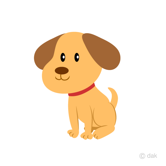 Cute dog cliparts vector royalty free Cute Puppy Clipart Free Picture|Illustoon vector royalty free