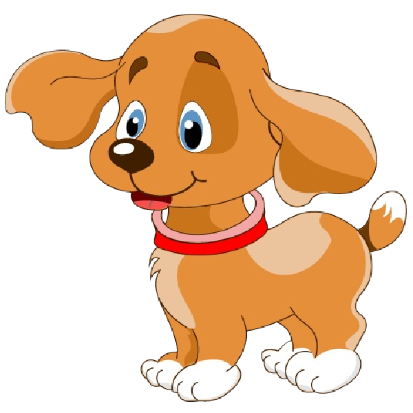 Cute dog cliparts transparent Cute Dog Clipart Kids transparent