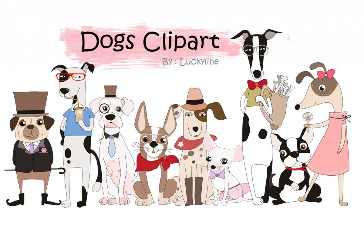 Cute dog cliparts clipart transparent library Cute dogs clipart clipart transparent library