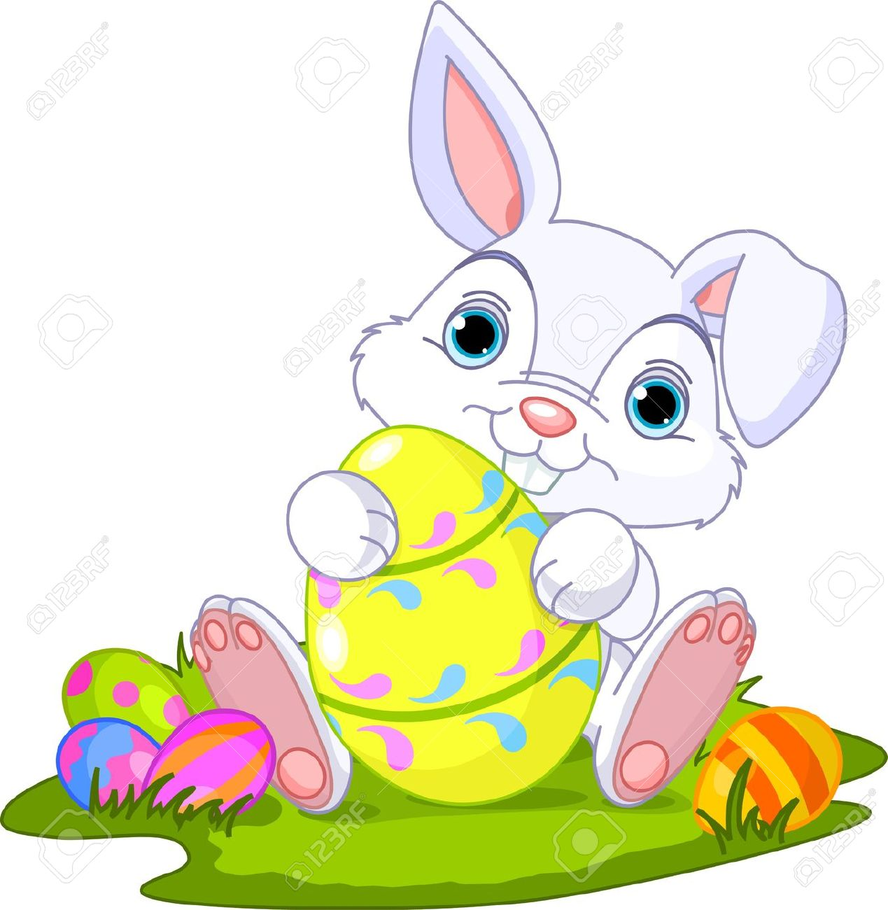 Cute easter basket clipart picture library stock Easter Bunny Clipart & Easter Bunny Clip Art Images - ClipartALL.com picture library stock