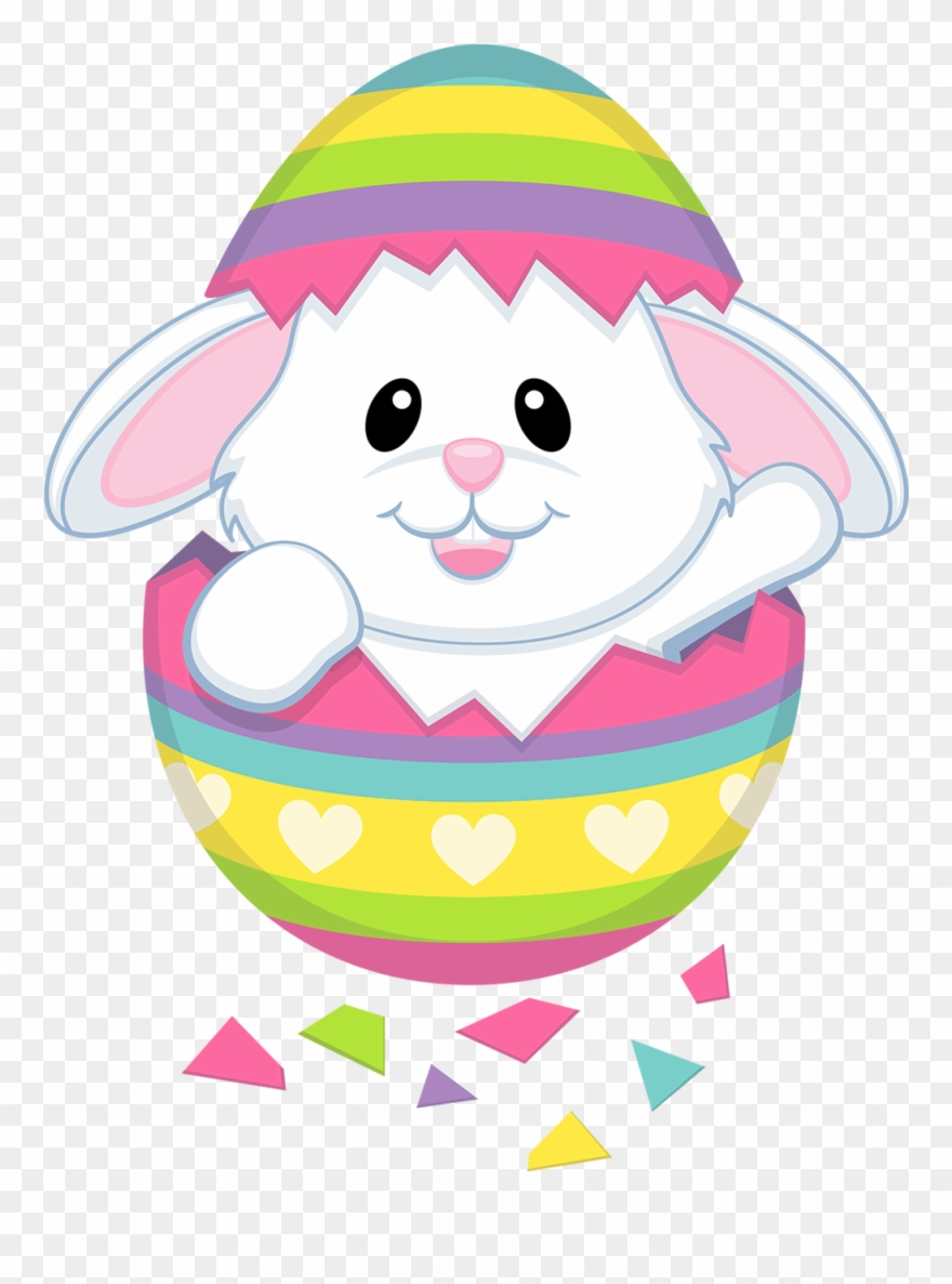 Transparent easter clipart jpg black and white stock Cute Easter Cliparts - Transparent Png Easter Bunnies Png (#32286 ... jpg black and white stock