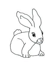 Funny Easter Bunny Clipart clip art