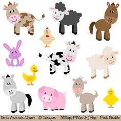Cute farm animal clipart clip free download Cute farm animals clipart » Clipart Station clip free download