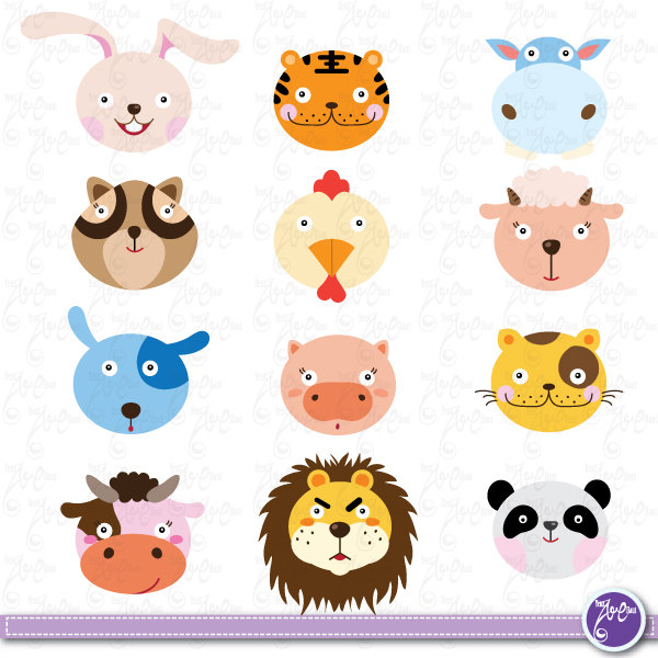 Cute farm animal clipart graphic library library Free Free Farm Animals, Download Free Clip Art, Free Clip Art on ... graphic library library