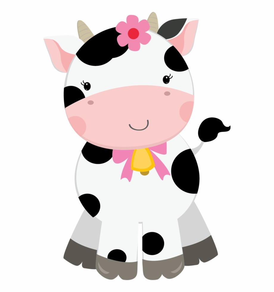 Cute farm animal clipart vector freeuse Vaca Fazendinha Png - Cute Farm Animals Clipart, Transparent Png ... vector freeuse