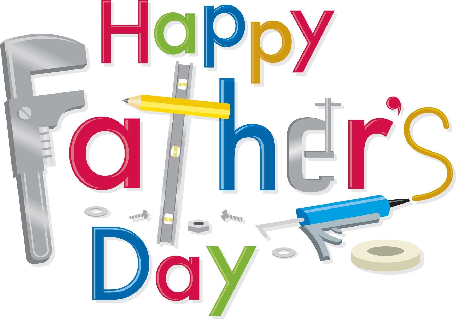 Father s day clip. Free clipart to use on website