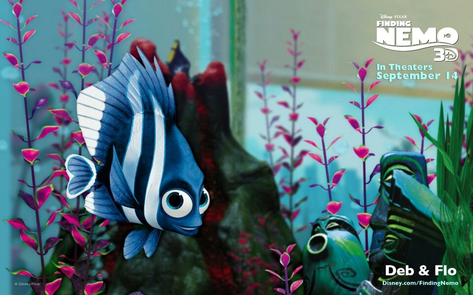 Cute finding nemo characters clipart flo banner library download Deb and Flo | Finding Nemo | Finding nemo, Gill finding nemo ... banner library download