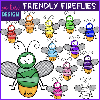 Cute firefly clipart black and white Firefly Clipart Worksheets & Teaching Resources | TpT black and white