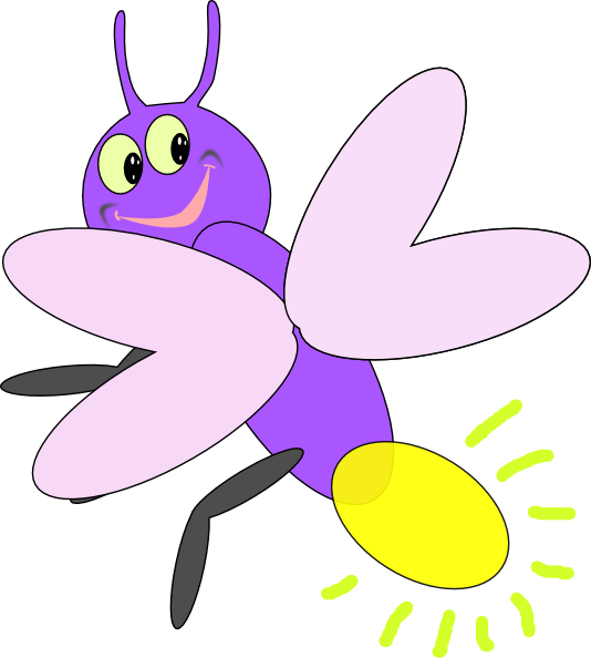 Cute firefly clipart vector transparent stock Cute Firefly Clip Art | Preschool Firefly Clip Art at Clker.com ... vector transparent stock