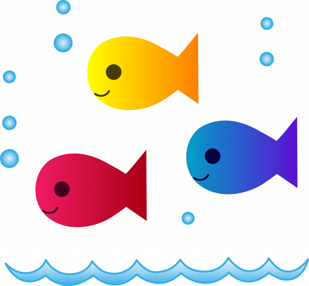 Fish we believe clipart. Strong pictures of cute