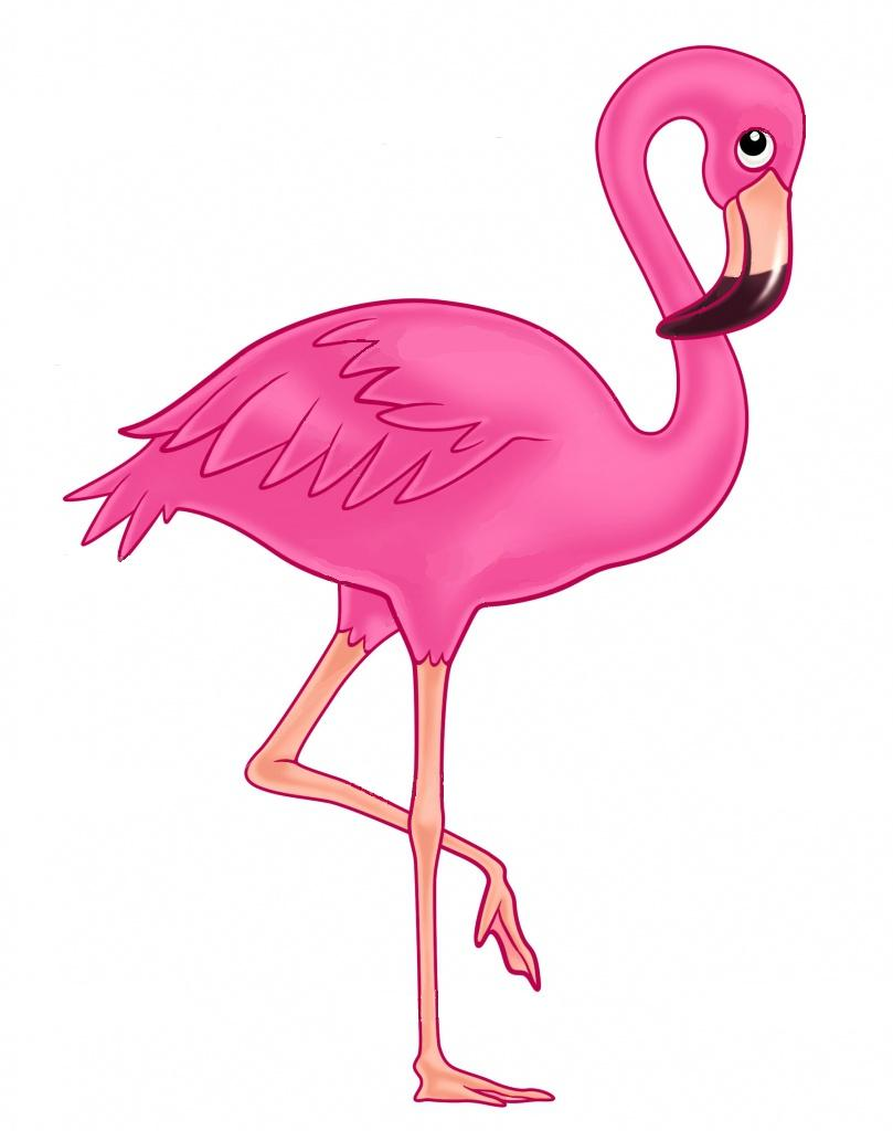 Library of cute flamingo banner download png files Clipart ... - photo#10