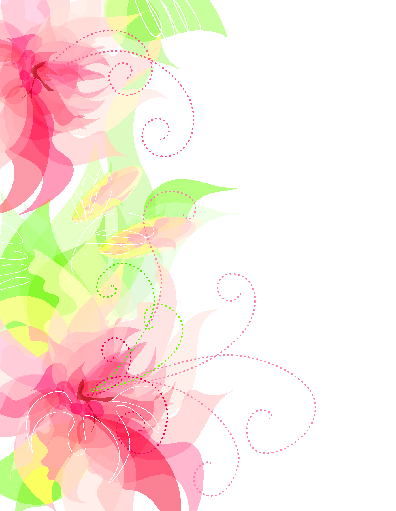 Cute flower clipart banner download Cute Floral Decoration Transparent PNG Clipart | Gallery ... banner download