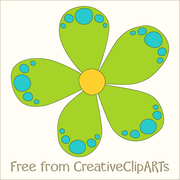 Cute flower clipart png image free library Cute Flower Clipart - Clipart Kid image free library