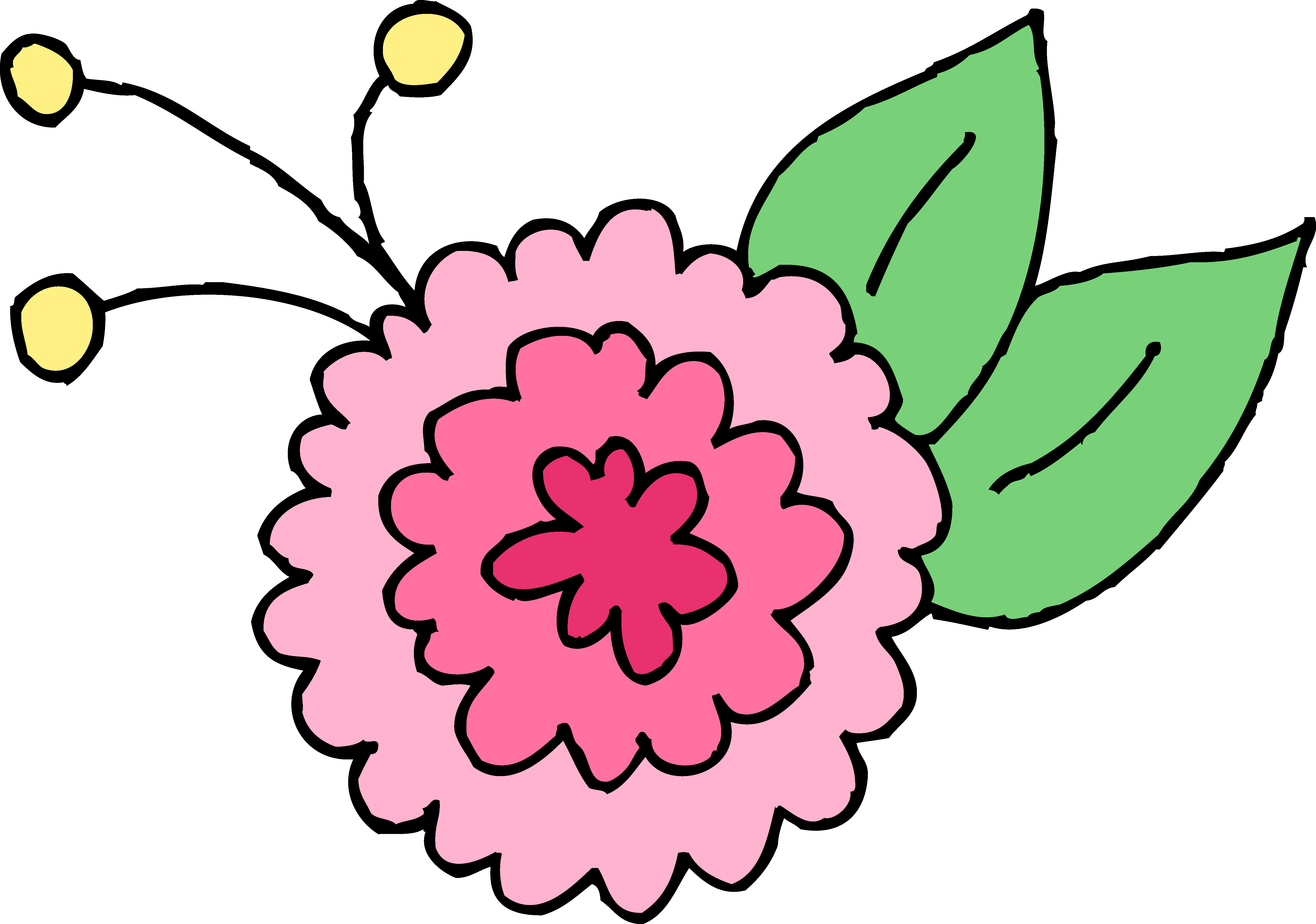 Cute flower clipart png royalty free library Clipart flower cute - ClipartFest royalty free library