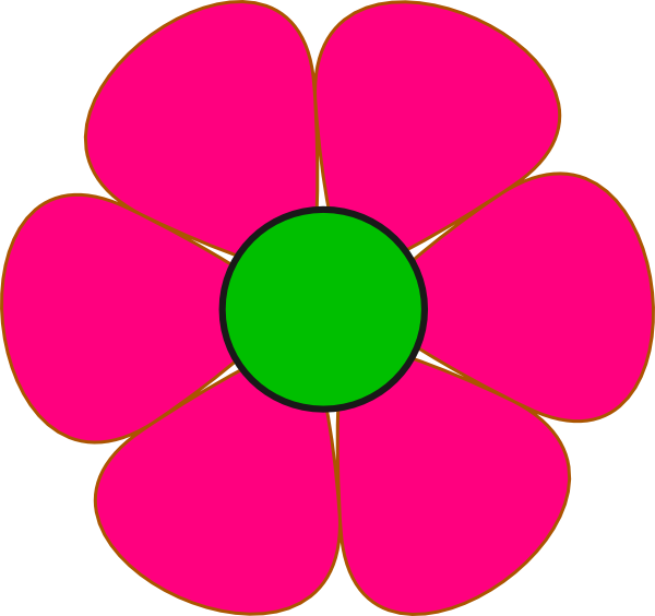 Flower clipart green clipart royalty free download Free Cute Flower Clipart, Download Free Clip Art, Free Clip Art on ... clipart royalty free download