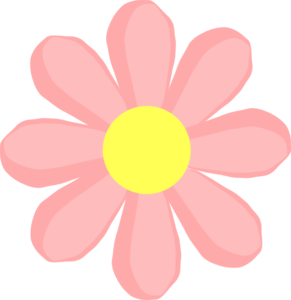 Cute flower cliparts vector freeuse library Cute Flower Pink Clip Art at Clker.com - vector clip art ... vector freeuse library