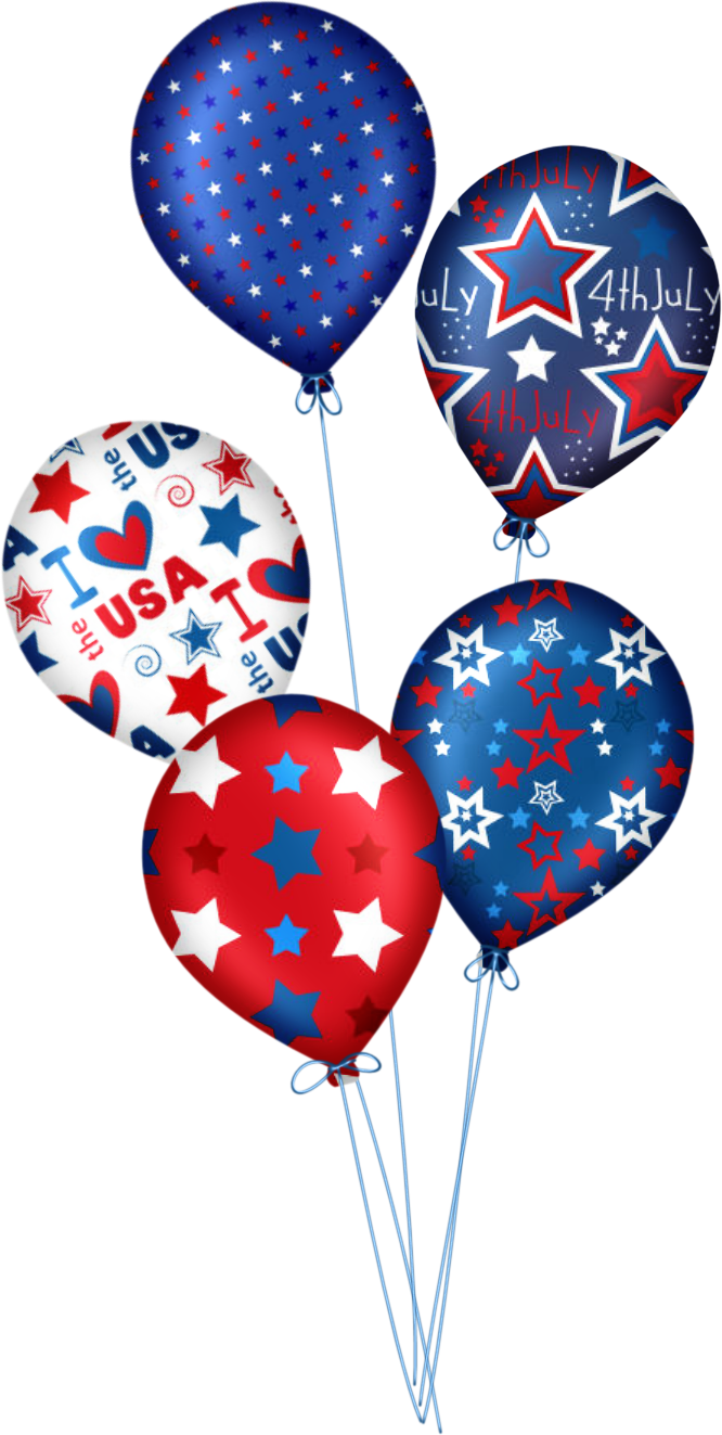 Cute fourth of july clipart without backgrounds banner freeuse download HAPPY 4 DE JULHO | Clip art-4th | 4th of july, Balloons, Happy 4 of july banner freeuse download