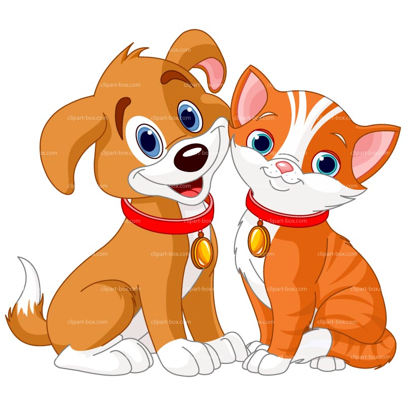 Cute free puppy and cat characters clipart vector transparent download Free Pictures Of Cartoon Dogs And Cats, Download Free Clip ... vector transparent download