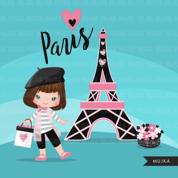 Scrapbooking card ladies hat and purse clipart image royalty free Paris clipart. Glitter pink Paris background, Eiffel tower, cute ... image royalty free
