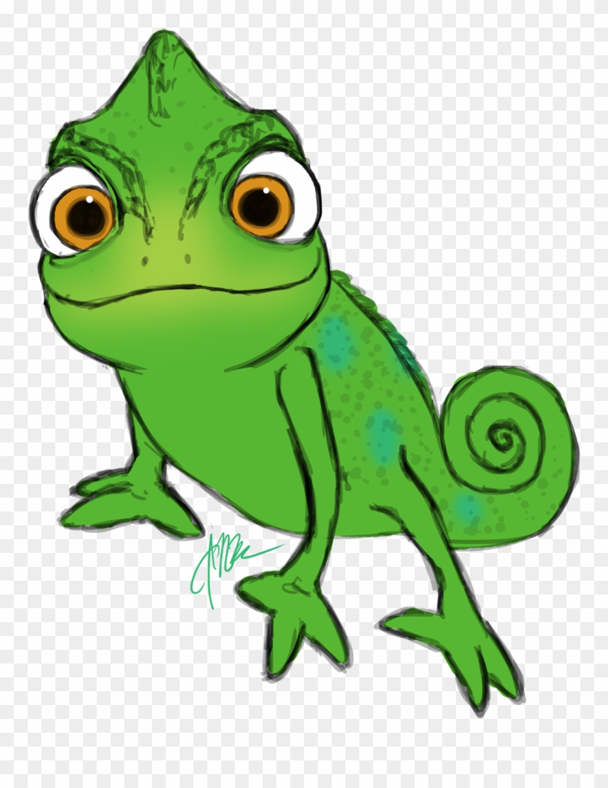 Cute gecko clipart clip library stock Gecko Clipart Face - Lizard From Tangled - Png Download (#142556 ... clip library stock