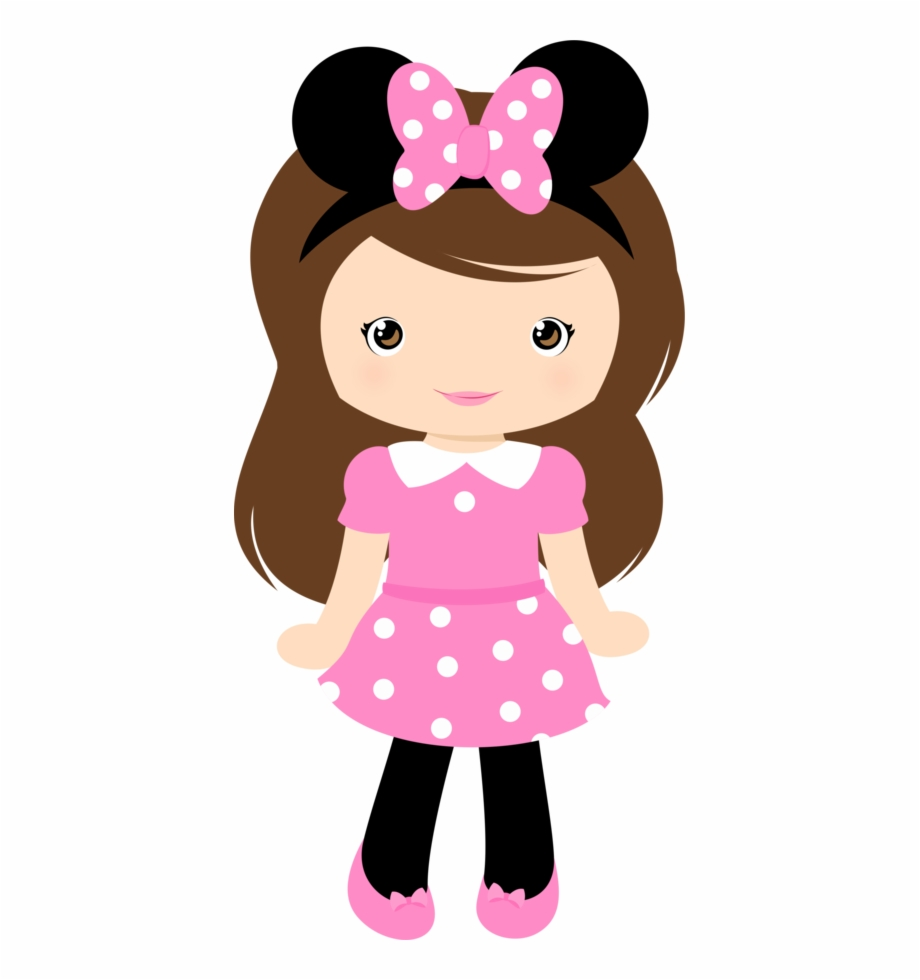 Png Black And White Girls Clipart - Cute Girl Clipart Free PNG ... clipart library download