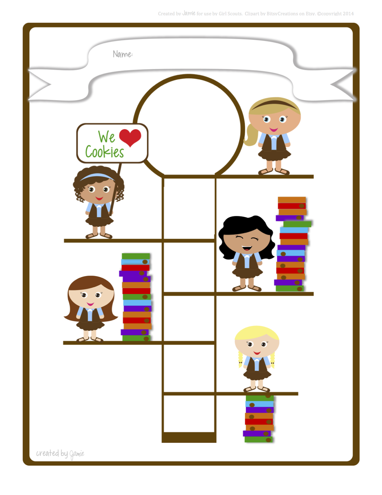 Cute girl scout juniors clipart not on pinterest image library library Girl Scout Brownie Images | Free download best Girl Scout ... image library library