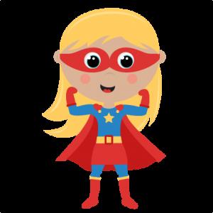 Female superhero clipart free graphic freeuse stock Girl Superhero cut files SVG cutting files for scrapbooking ... graphic freeuse stock