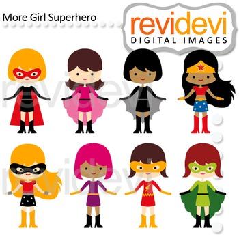 Cute girl superhero clipart svg free library Superhero clip art - girls svg free library