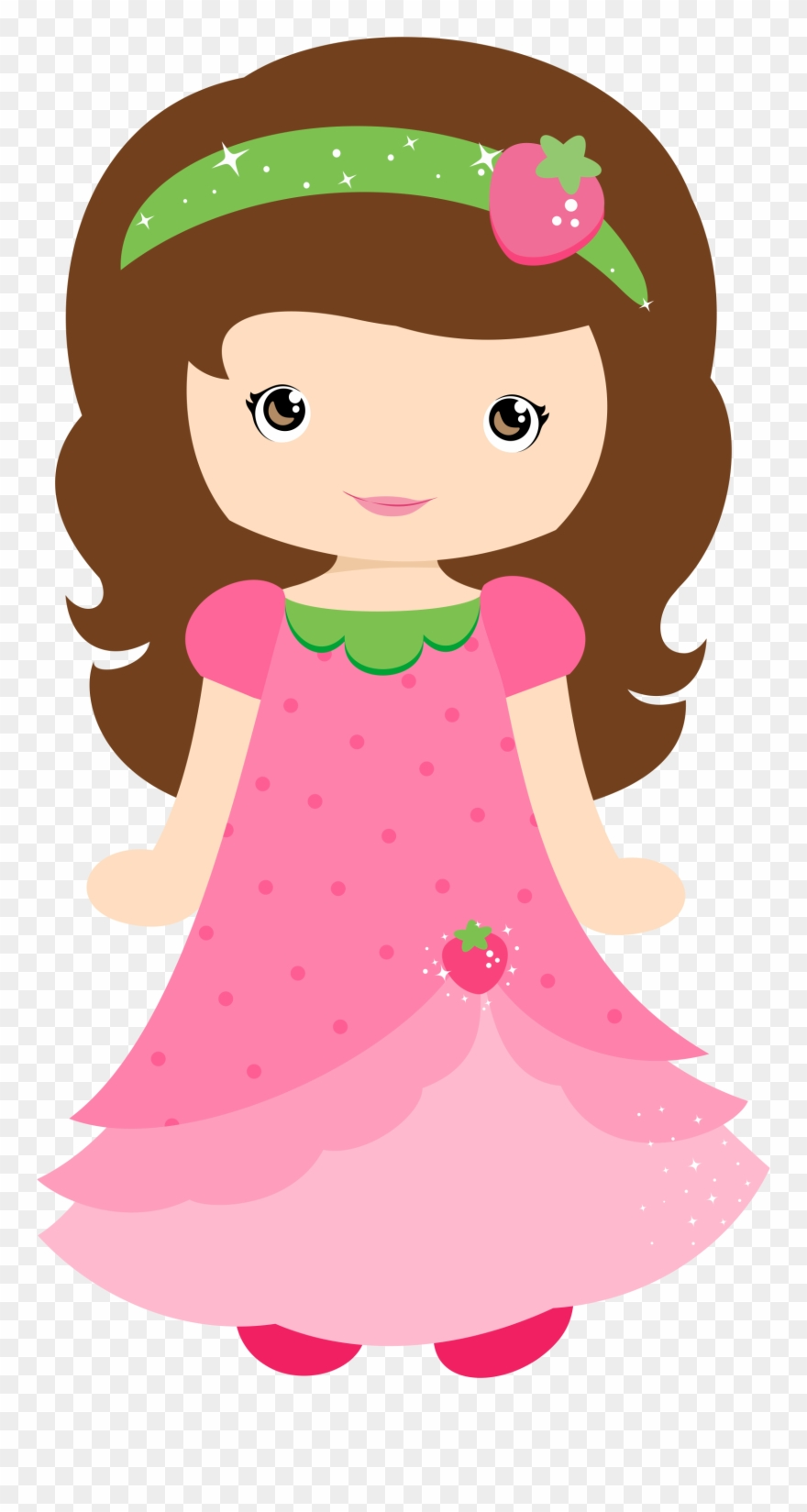 Para doll clipart banner free library Cute Clipart, Girl Clipart, Cute Dolls, Cute Kids, - Desenho ... banner free library
