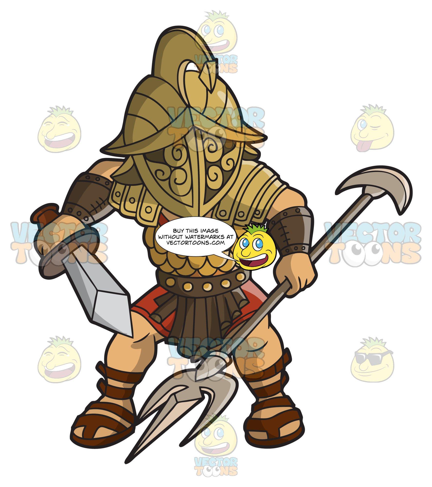 Cute gladiator clipart jpg black and white gladiators of rome cartoon | cartoonxcartoon.com jpg black and white