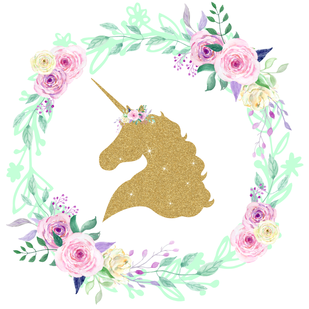 Twinkle twinkle little star baby shower clipart vector royalty free Gold GLITTER Unicorn Center Floral Wreath Iron On | Pinterest ... vector royalty free