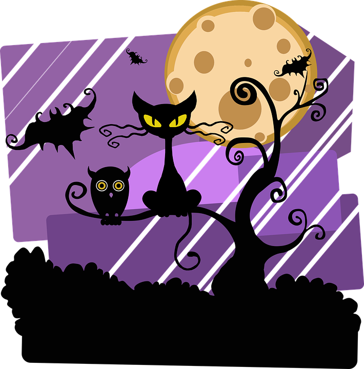 Free black cat clipart halloween banner freeuse library 100+ Unique Black Cat Names To Know For The First Time banner freeuse library