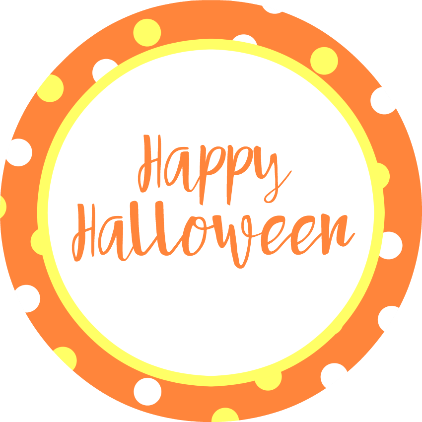 Cute halloween candy clipart banner library Cute Halloween Gifts: Candy Pumpkin Treat Cups – Fun-Squared banner library