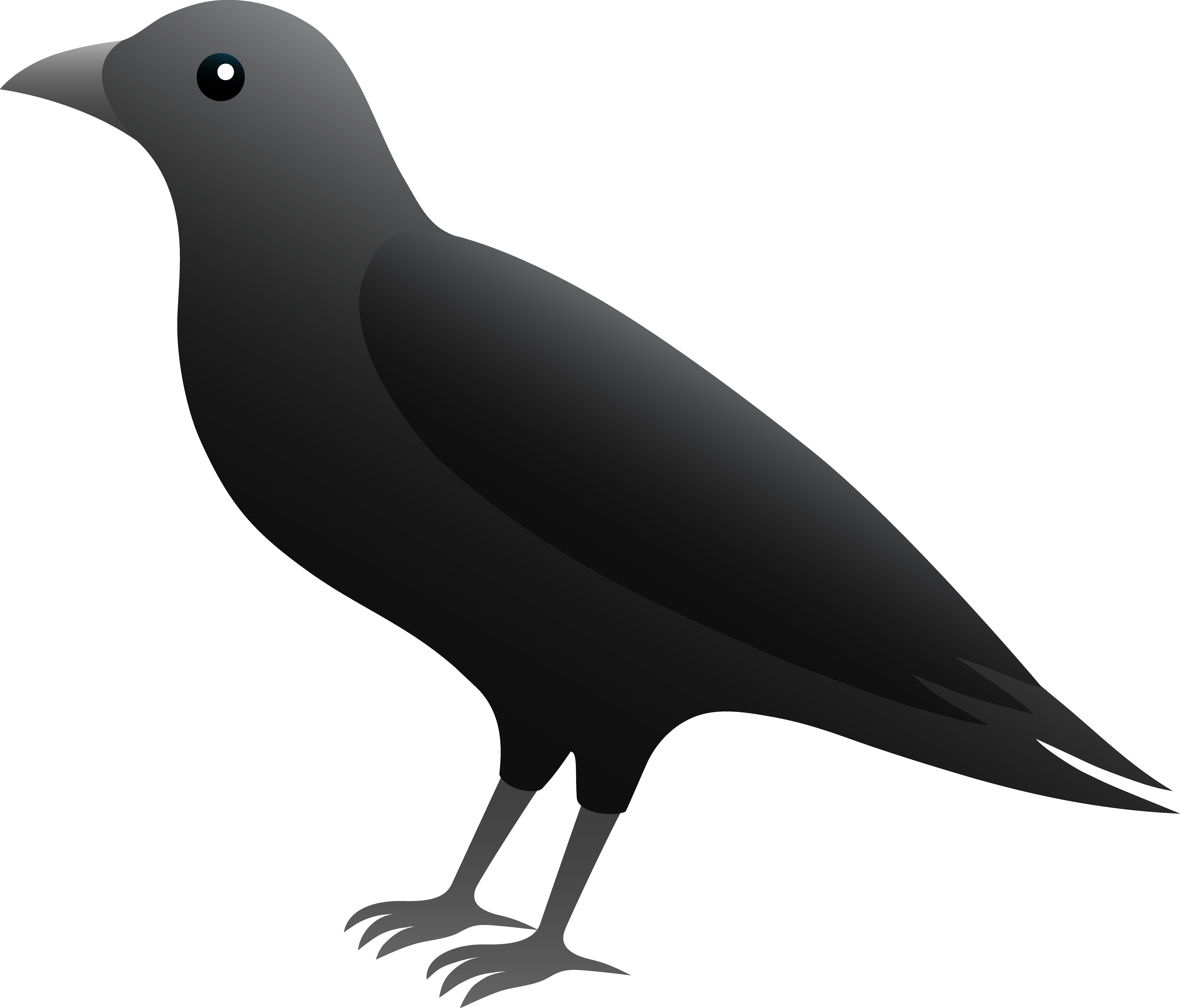 Cute halloween crow clipart jpg free library 28+ Collection of Cute Crow Clipart | High quality, free cliparts ... jpg free library